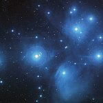 The Pleiades, also known as Messier 45, M45 or the Seven Sisters, is a star cluster located in the constellation of Taurus.  It is among the nearest star clusters to Earth and is the cluster most obvious to the naked eye in the night sky.