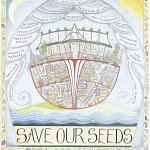 The Ark portrays a refuge, a safe place of protection for seeds which are under threat from many quarters.